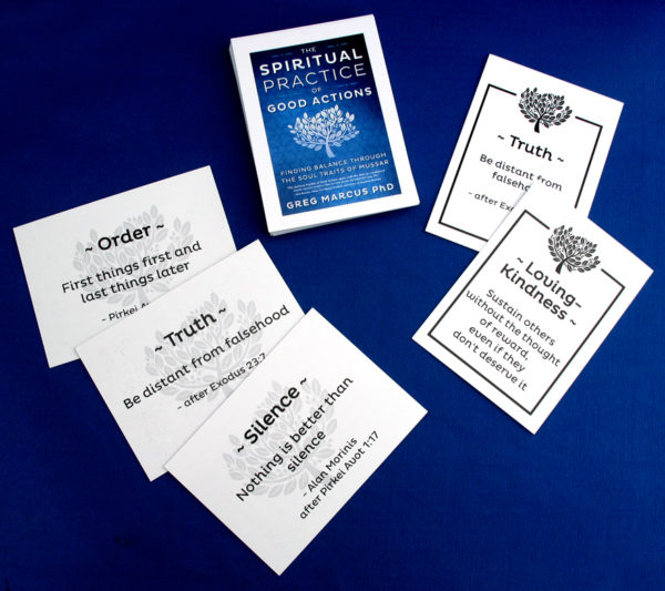 Spiritual Practice of Good Actions Mantra Cards