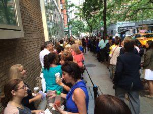 Wait In Line Like a Mensch